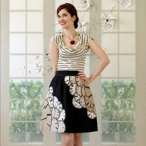 Floreat Lost Time Clock Skirt